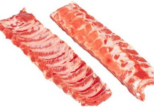 Spareribs CENTER AM / blomer extra vlees per Kg