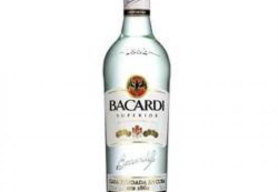 Bacardi Wit 100cl 37,50%