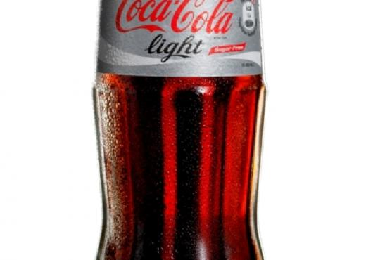 Krat Coca-cola Light  flesjes 24x20cl