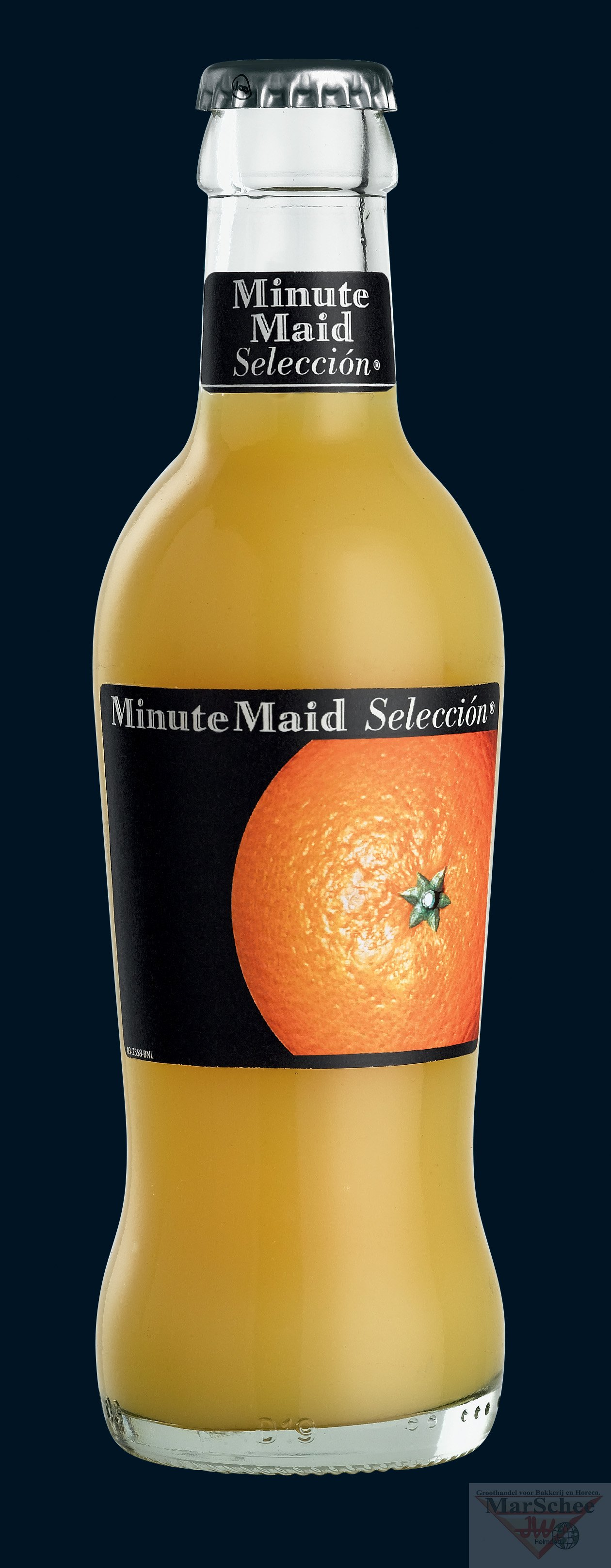 Krat minute maid orange 24x20cl - Krat met appel ...